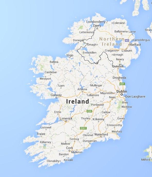 Map Of Ireland Google Arts Culture