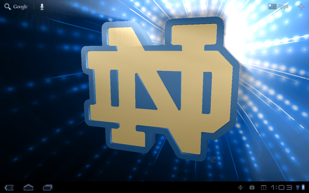 Notre Dame Irish LWPs & Tone- screenshot