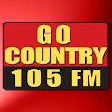 Go Country 105 logo
