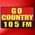 Go Country 105 logo