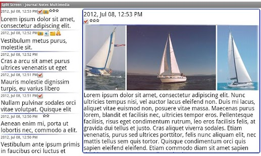 Journal Notes Multimedia- screenshot thumbnail