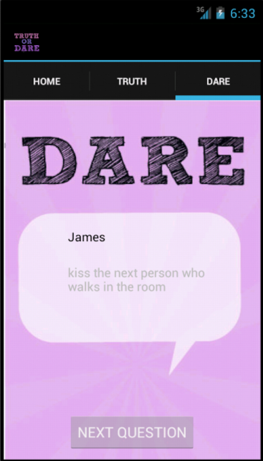 Truth Or Dare Questions Easy