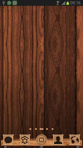 Wood Go Launcher Theme