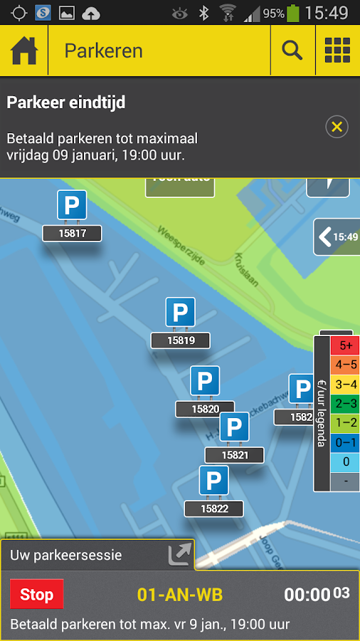 Onderweg - Verkeer & Parkeren - screenshot