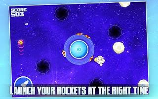 Screenshot of Tap-Tap Rockets