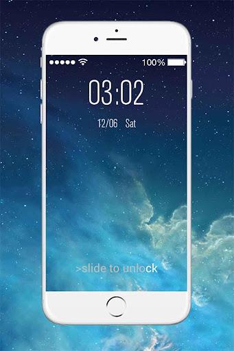 OS8 Lock Screen - Keypad Lock