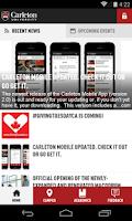 Screenshot of Carleton Mobile