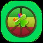 GO Launcher EX Theme PeaceSign icon