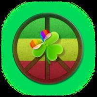 GO Launcher EX Theme PeaceSign 4.6