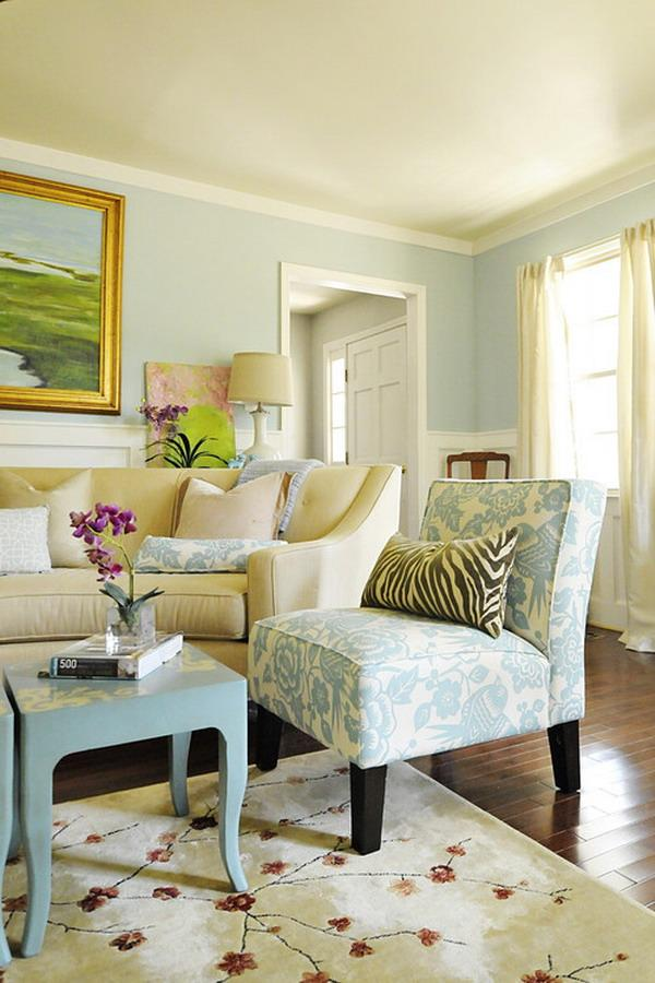 Living Room Colors Paint two color painting idea - android apps on google play