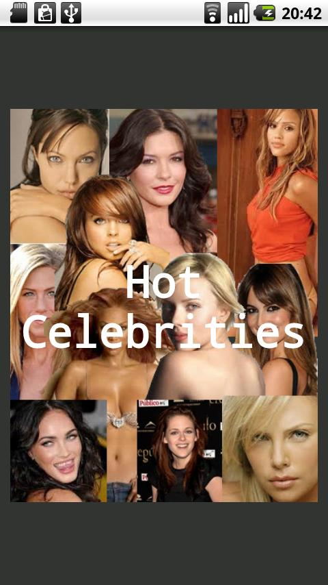 Hot Celebrities - screenshot