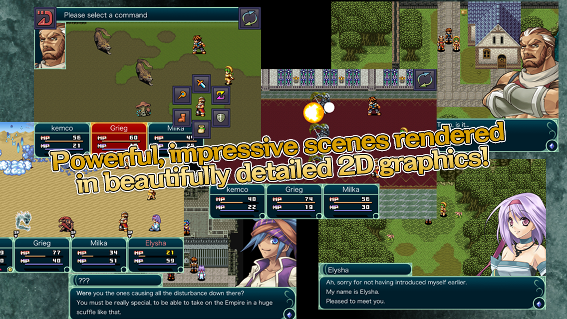 RPG Grinsia - screenshot