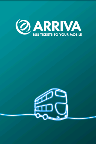 Arriva m-ticket - screenshot