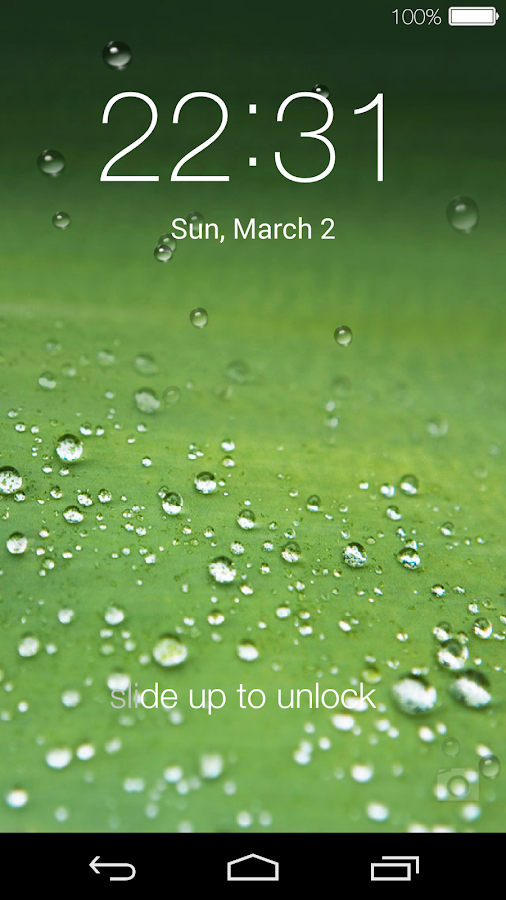 Lock screen live wallpaper android apps on google play for The best home screen wallpaper for android