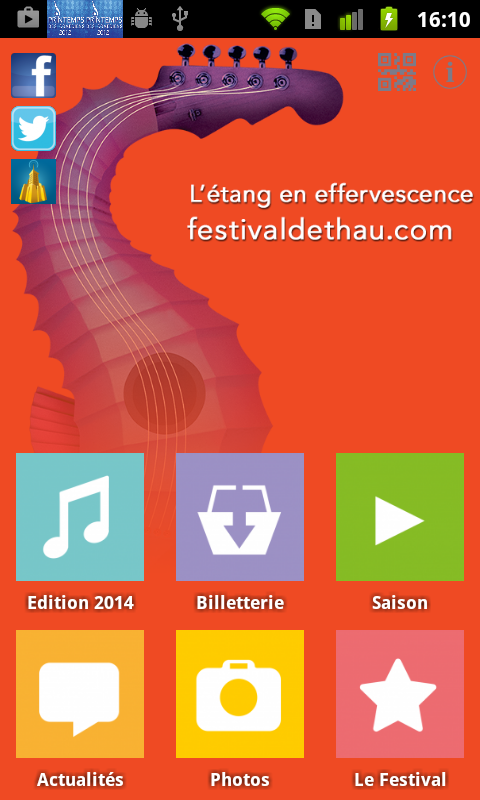 Festival de Thau- screenshot