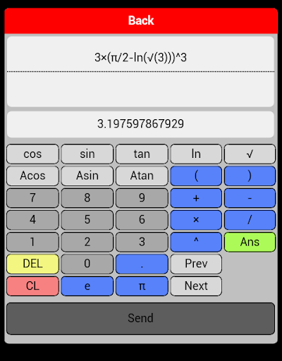 Maths calc graph table Pro