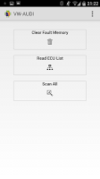 Screenshot of DTC Fault Memory erase for VAG