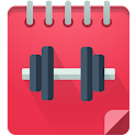 Gym Journal - fitness diary icon