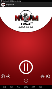 NaghamFM 105.3- screenshot thumbnail