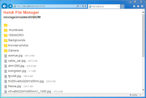 Screenshot of Handi File Manager (Explorer)