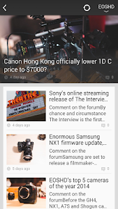 Filmmaker News screenshot 1