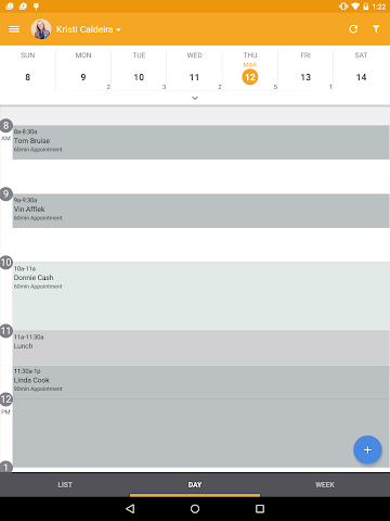 android MINDBODY Express Screenshot 1