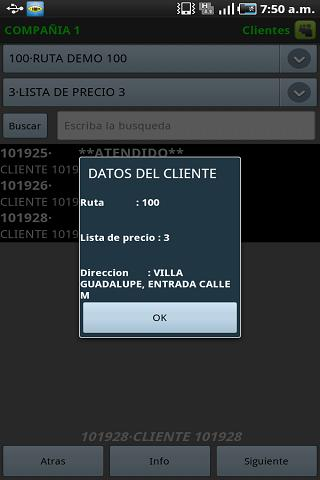 Isna Ventas Movil - screenshot
