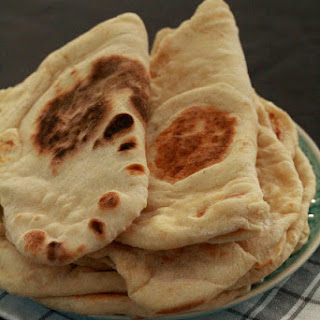 Fluffy Naans to Accompany a Super Fragrant Lentil Dhal.