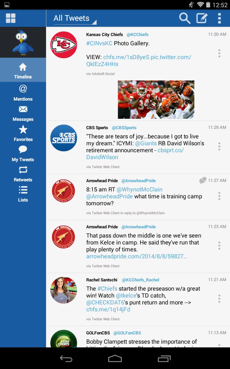 TweetCaster for Twitter screenshot #13