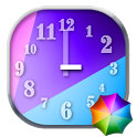 Colourful Clock Widget icon