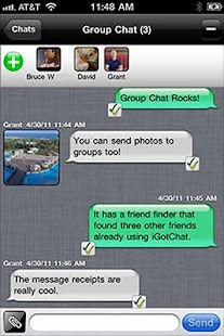 iGotChat Messenger / Free Text - screenshot thumbnail