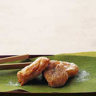 Sweet Plantain Fritters.