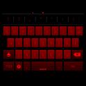 GB keyboard with night mode icon