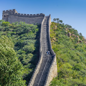 Great Wall of China by Lee Davenport - Buildings & Architecture Public & Historical (  )