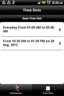 Schedule Silent Mode - screenshot thumbnail