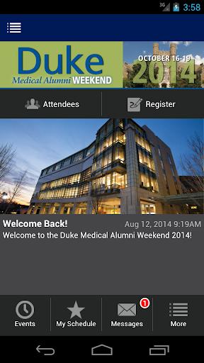 DukeMed Alumni Weekend 2014