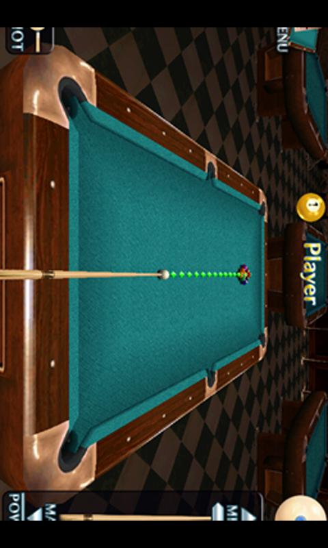 Super3DBilliards - screenshot