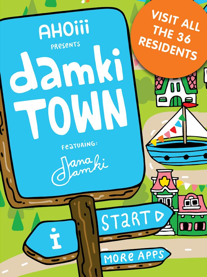 Damki Town Animal Coloring Book App For Kids Screenshot