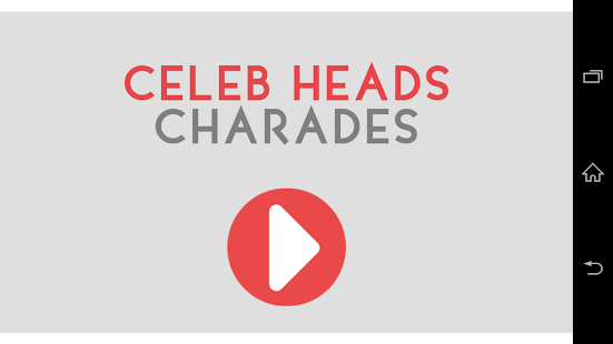 GOLD Heads Up Charades! - screenshot thumbnail