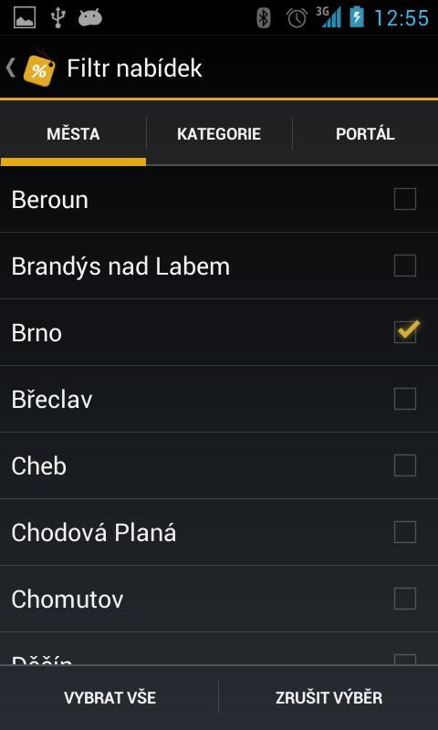 Zlaté slevy - screenshot