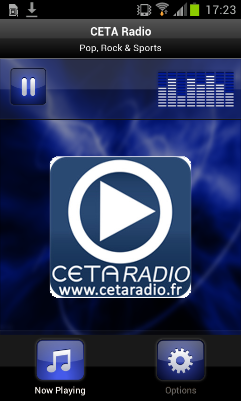 CETA Radio- screenshot