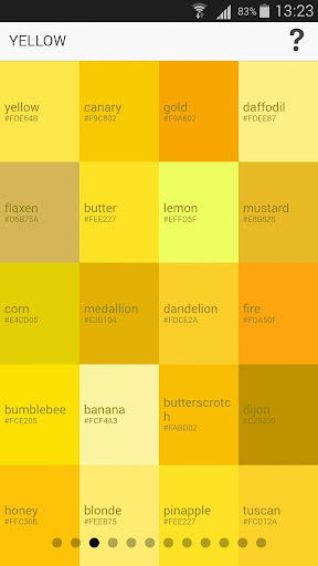 Color Thesaurus