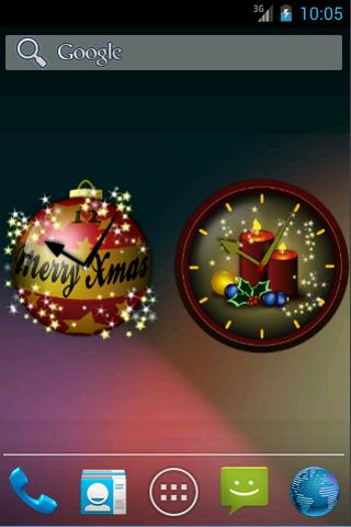 Christmas Clock Widgets Free - screenshot
