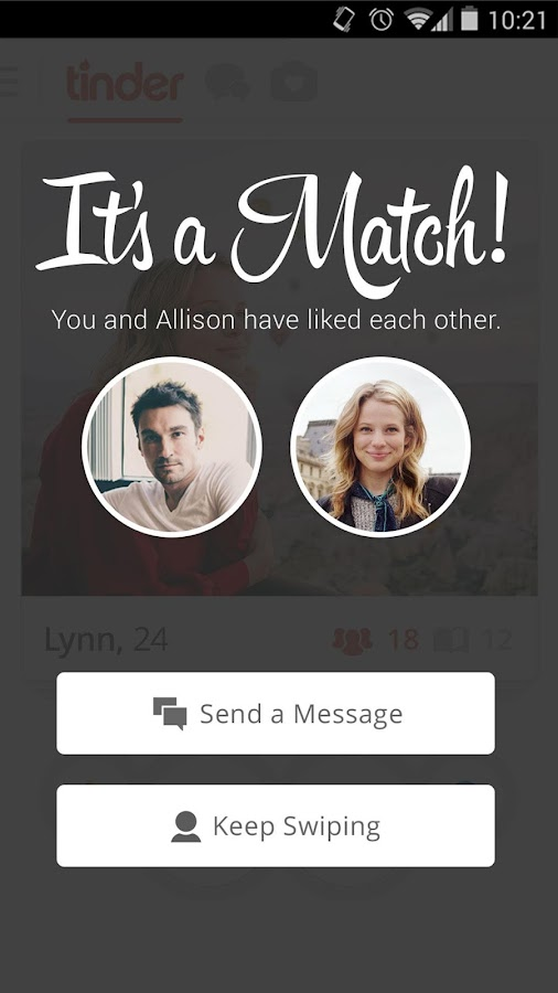 Tinder - screenshot
