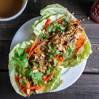 Thai Chicken Tacos.