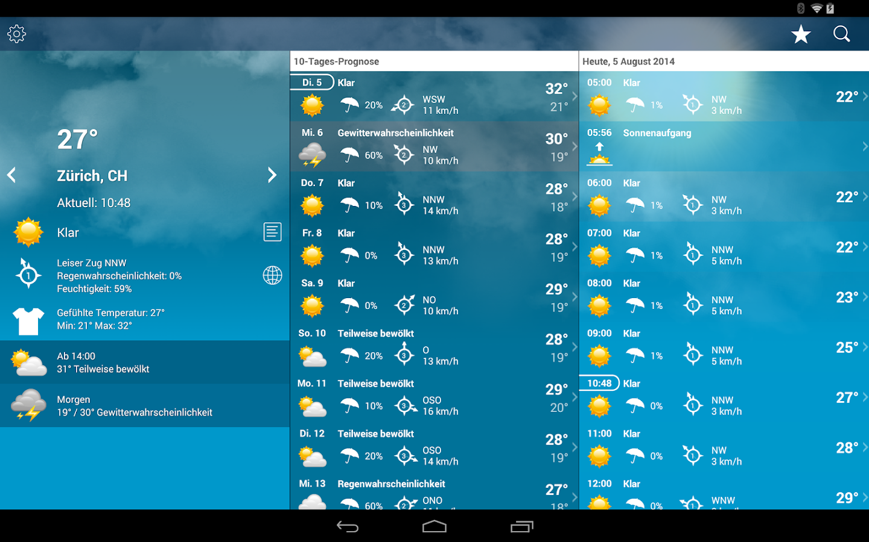 weather widget android live wallpaper