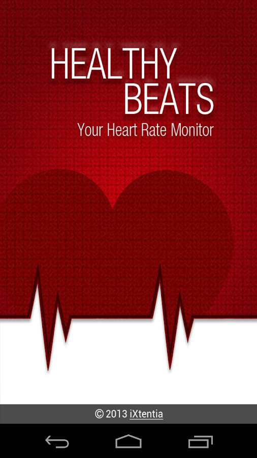 Healthy Beats - Heart Monitor- screenshot