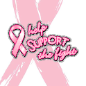 Pink Ribbon Live Wallpaper logo