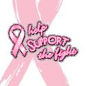 Pink Ribbon Live Wallpaper logo