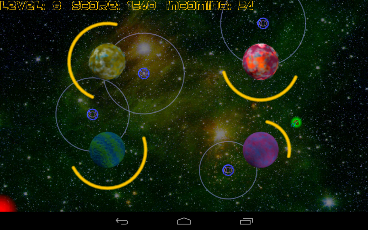 Asteroid Defense - screenshot